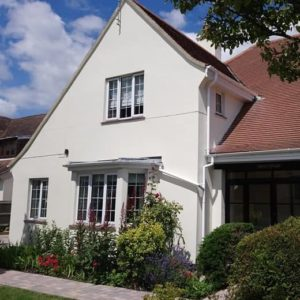 Property with AP77 Flexible Smooth Masonry Paint finish
