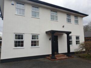 Front of property Lancashire